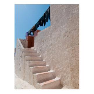 Unique Santorini architecture Postcard