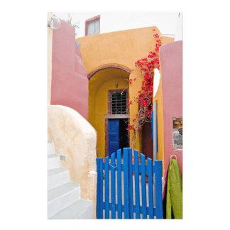 Unique Santorini architecture Stationery