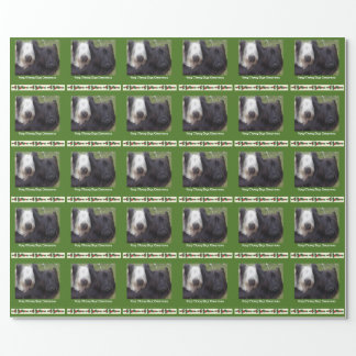 Unique Skye Terrier Christmas gift wrap