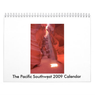 Unique Southwest Photographs Calendar 2009