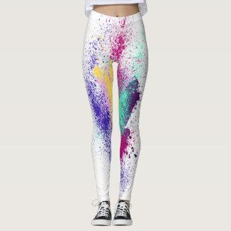 Unique Sparkly rainbow leggings