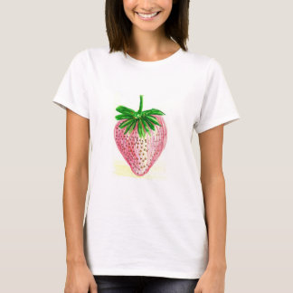 unique strawberry art on customizable template T T-Shirt