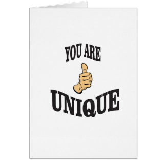 unique thumbs ups card