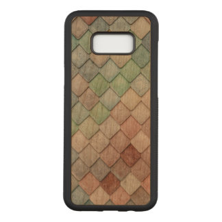 Unique Tile Pattern Carved Samsung Galaxy S8+ Case