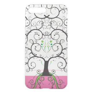 Unique Tree of Life like Illustration clear iphone iPhone 8 Plus/7 Plus Case