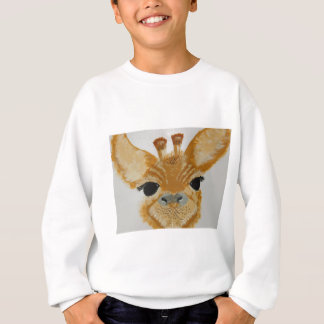 Unique Trendy Modern Eye Catching design Giraffe Sweatshirt