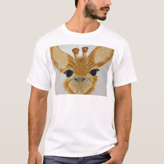 Unique Trendy Modern Eye Catching design Giraffe T-Shirt