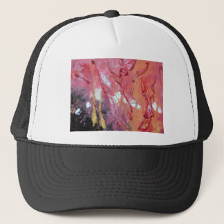 Unique Trendy Modern Eye Catching design Trucker Hat