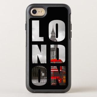 Unique Typography London City Photo Picture OtterBox Symmetry iPhone 7 Case