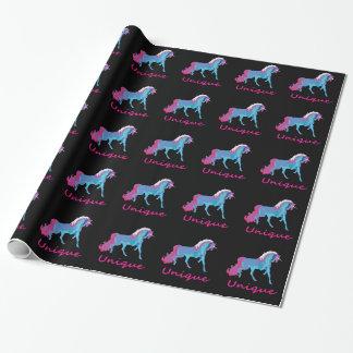 Unique Unicorn Wrapping Paper