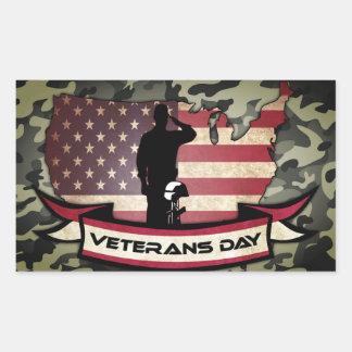 Unique Veterans Day honors Sticker