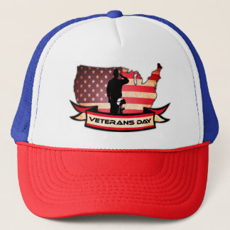 Unique Veterans Day honors Trucker Hat