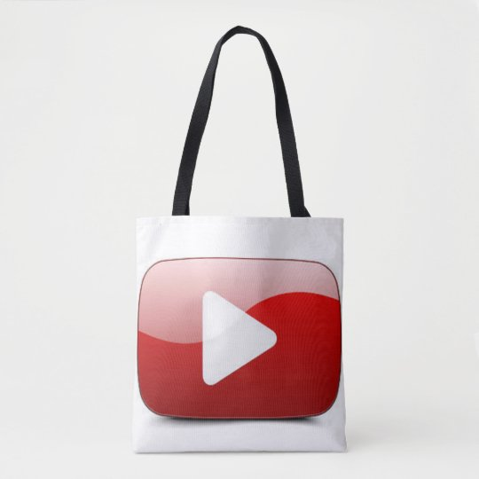 Unique Video Button Tote Bag