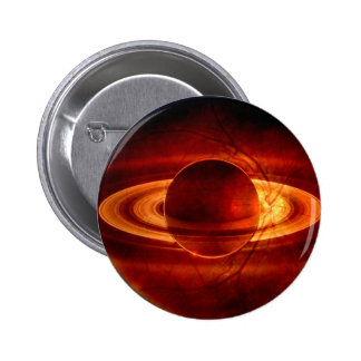 Unique view of Saturn 2 Inch Round Button