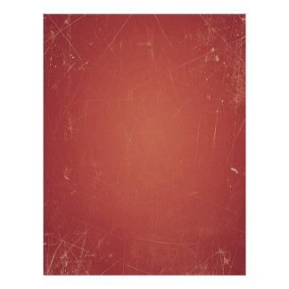 Unique Vintage Style Red Paper Shabby Grunge Color