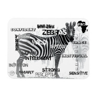 Unique Zebras Magnet