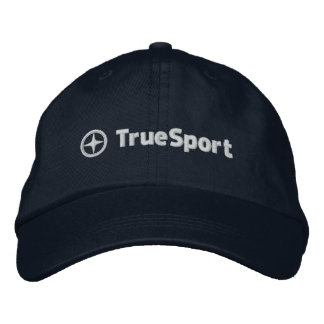 Unisex Adjustable Navy Blue Hat with Embroidery