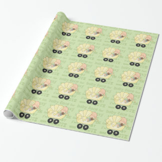 Unisex Baby Shower wrapping paper