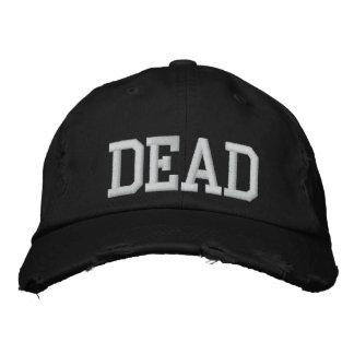 Unisex Black Dead Hat