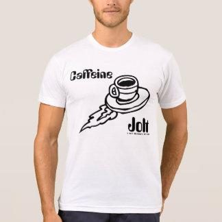 Unisex Caffeine Jolt, Back/White Font Shirt