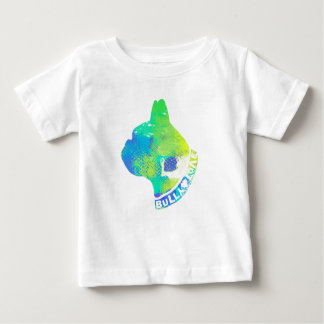 Unisex Cool Dog Lovers Watercolor Design Baby T-Shirt