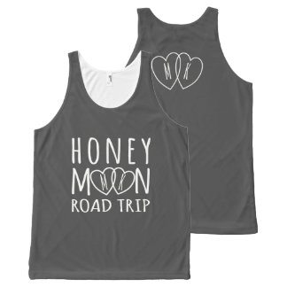 Unisex Honeymoon Road Trip Personalized Tank