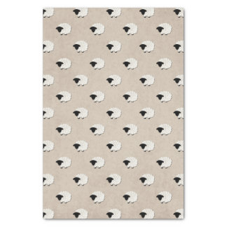 Unisex Little Lamb Tissue Paper