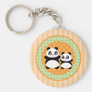 Unisex Panda Bear Keychain