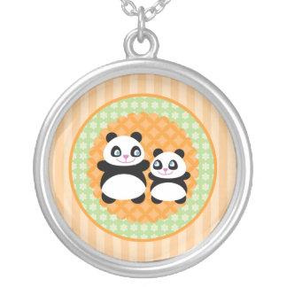 Unisex Panda Bear Necklace