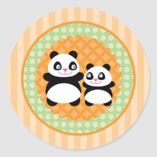 Unisex Panda Bear Sticker
