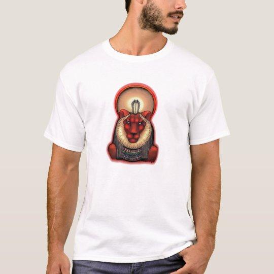 Unisex Sekhmet Dark T, Organic Cotton 2 sided T-Shirt