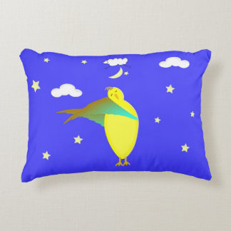 Unisex Sleepy Time Bed Pillow For A Girl or Boy Accent Pillow
