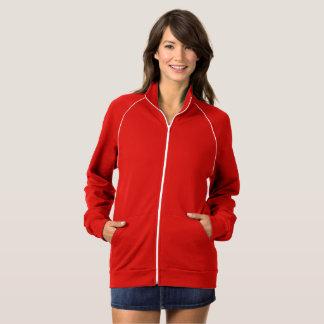 UNISEX  Style: Women's  Fleece Track Jacket