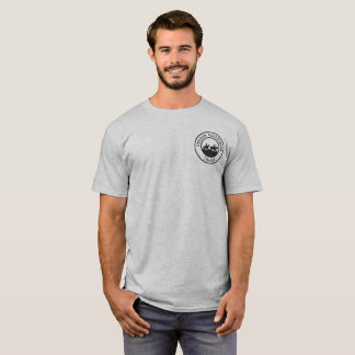 Unisex T-shirt with Small Black Logo