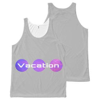 UNISEX Vacation Tank Top CUSTEM COLOR