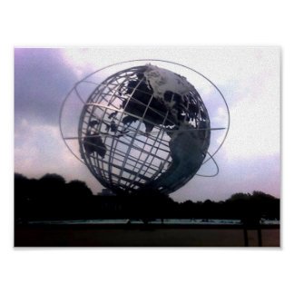 Unisphere -  Flushing Meadow Park- New York, NY Poster