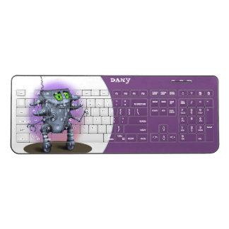 UNIT ALIEN ROBOT Custom Wireless Keyboard