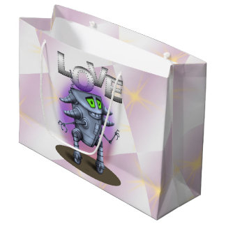 UNIT ROBOT CARTOON  Gift Bag - Large 2