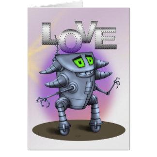 UNIT ROBOT CARTOON GRETTING Card