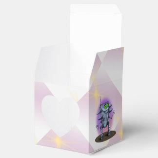 UNIT ROBOT CARTOON Heart 2x2 Box Wedding Favor Boxes