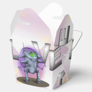 UNIT ROBOT CARTOON Take Out Box Favor Boxes