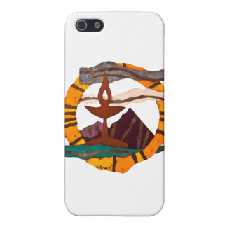 Unitarian Universalist Chalice items iPhone 5 Case