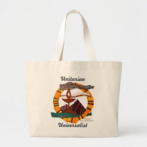 Unitarian Universalist Chalice tote Canvas Bag