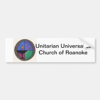 Unitarian Universalist Church of Roanoke Bumper Sticker