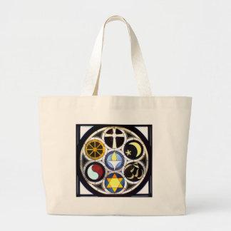Unitarian Universalist Church Rockford, IL Jumbo Tote Bag