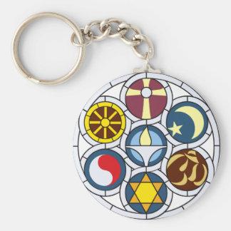 Unitarian Universalist Merchandise Basic Round Button Keychain