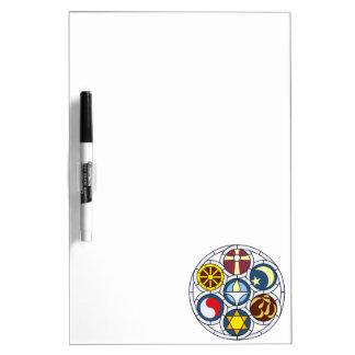 Unitarian Universalist Merchandise Dry-Erase Whiteboard