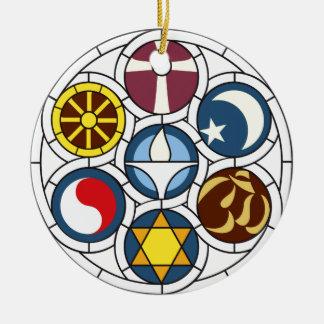 Unitarian Universalist Merchandise Round Ceramic Ornament