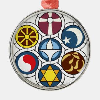 Unitarian Universalist Merchandise Silver-Colored Round Ornament