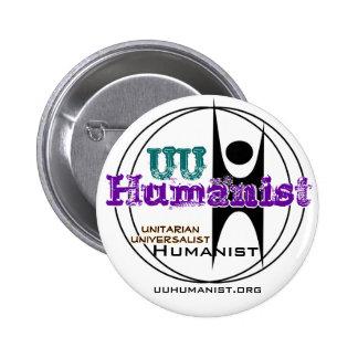 Unitarian Universalist (UU) Humanist 2 Inch Round Button